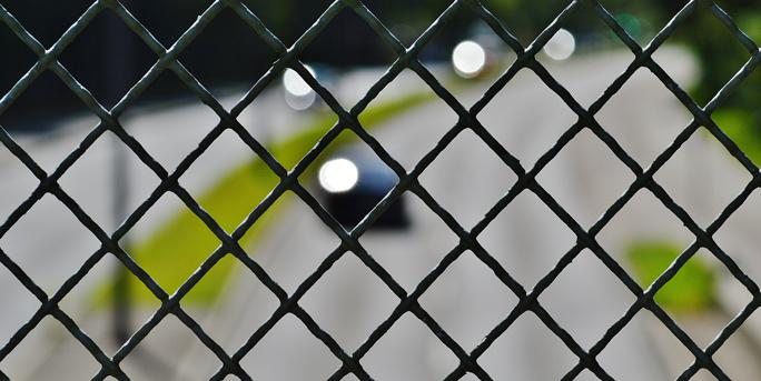 Nur ein Gitter trennt uns