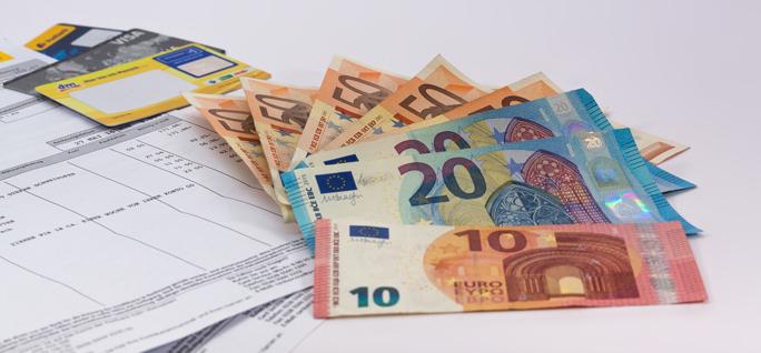 Bis auf 300 Euro gepfändet